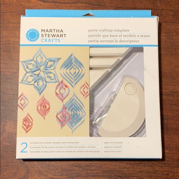Martha Stewart Party Crafting Template - New